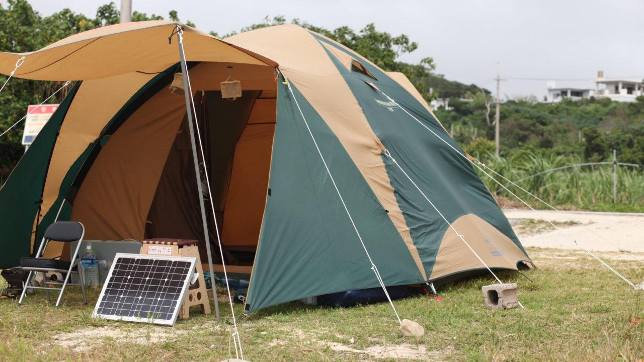 心地よいそよ風の中のキャンプ 2