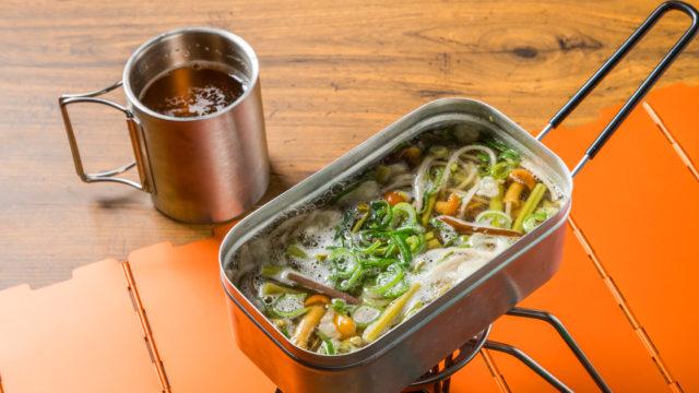 アウトドアで簡単料理 Delicious and easy cooking outdoors